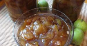 How to cook jam from apples, dry in the oven