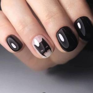 15 ideas fashionable spring manicure short nails: Trends 2019